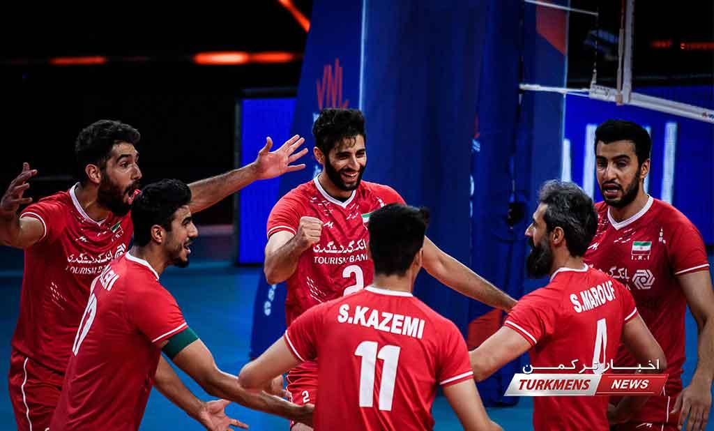 لیگ ملت های والیبال/ پیش بازی ایران و فرانسه