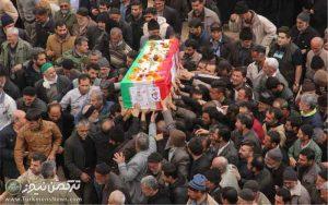 مرزبان شهید مینودشتی تشییع شد 7 300x188 - پیکر مرزبان شهید علی هلاکویی در مینودشتی تشییع شد+ تصاویر