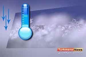 دما گلستان 4 300x200 - کاهش محسوس دمای هوا و وضعیت یخبندان در گلستان