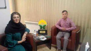 گلستان 300x169 - دیدار رئیس سازمان هکای گلستان با  دبیر انجمن ارگانیک کشور