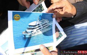 جذب گردشگر و انتقال کشتی کروز به بندرترکمن