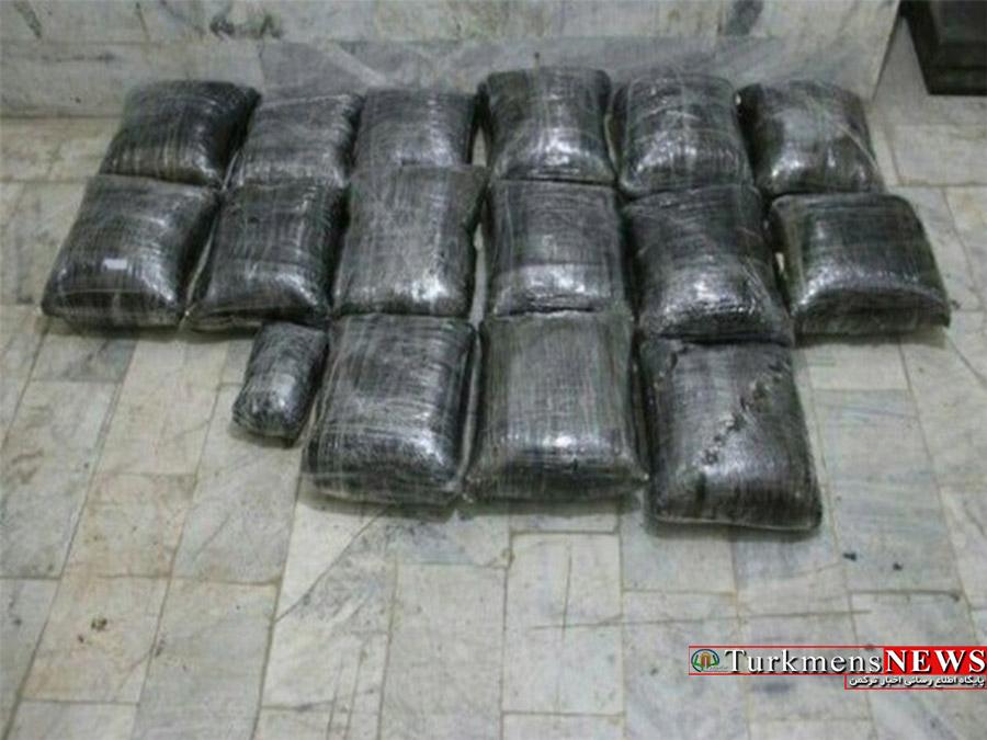 کشف 10 کیلوگرم مواد مخدر در رامیان