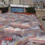 کشف 25 تن برنج قاچاق در گرگان