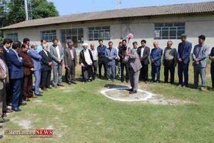 کلنگ ساخت مدرسه ۹ کلاسه آیت الله هاشمی رفسنجانی در شهرکردکوی به زمین زده شد