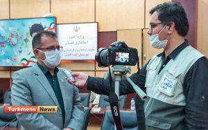 الدین نظر نژاد مدیر آموزش و پرورش ۲ 300x188 - ۲۵ مرداد مانور بازگشایی مدارس گنبدکاوس برگزار میشود+فیلم مصاحبه