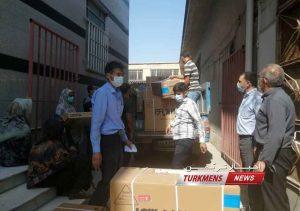 گازی روستای چای قوشان کوچک 3 300x211 - اهدای کولر گازی به مددجویان کمیته امداد در روستای چای قوشان کوچک+عکس