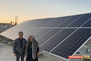نیروگاه خورشیدی ترکمن نیوز 3 300x201 - اولین و بزرگترین نیروگاه خورشیدی خانگی شمال و شرق گلستان راه اندازی شد+عکس