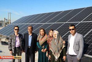 نیروگاه خورشیدی ترکمن نیوز 6 300x201 - اولین و بزرگترین نیروگاه خورشیدی خانگی شمال و شرق گلستان راه اندازی شد+عکس