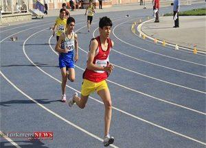 گلستان قهرمان مسابقات دو ومیدانی نونهالان و نوجوانان منطقه سه کشور