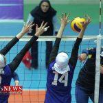 گلستان قهرمان مسابقات والیبال دختران کشور