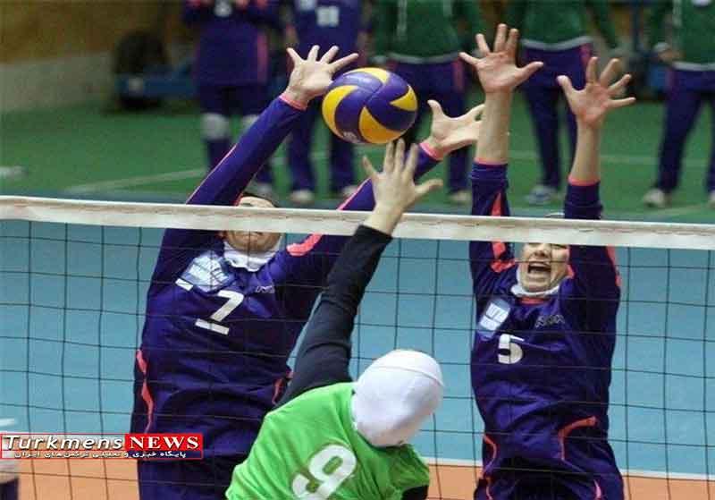 گلستان میزبان مسابقات والیبال دختران قهرمانی کشور