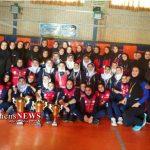 گلستان نایب قهرمان رقابتهای قهرمانی والیبال بانوان کشور