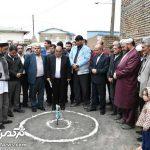 آغاز بازسازی نخستین واحد مسکونی آسیبدیده از سیل در گمیشان