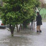 بارش ۱۰۰ میلیمتری باران در گنبدکاووس؛ ۲۰ روستا خسارت دیدند