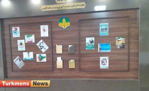 شهدا گنبد1 300x183 - گزارش تصویری افتتاحیه یادمان شهدای فرهنگی شهرستان گنبدکاووس
