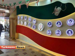 شهدا گنبد3 300x225 - گزارش تصویری افتتاحیه یادمان شهدای فرهنگی شهرستان گنبدکاووس