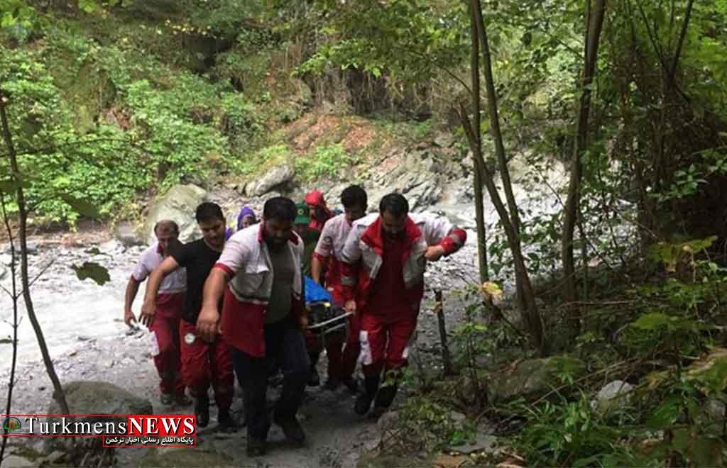کوهنورد از آبشار «چلی» علی آبادکتول سقوط کرد - یک کوهنورد از آبشار «چلی» علی آبادکتول سقوط کرد