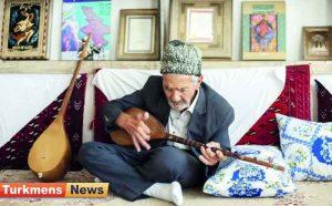 محمد یوسفی خواننده ترکمن و نوازنده دوتار 300x186 - تزکیه با ساز و نوای ابریشمین/ زندگی و هنر آی محمد یوسفی خواننده ترکمن و نوازنده دوتار