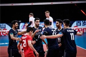 01607092 - اولین پیروزی ایران در لیگ ملتهای والیبال
