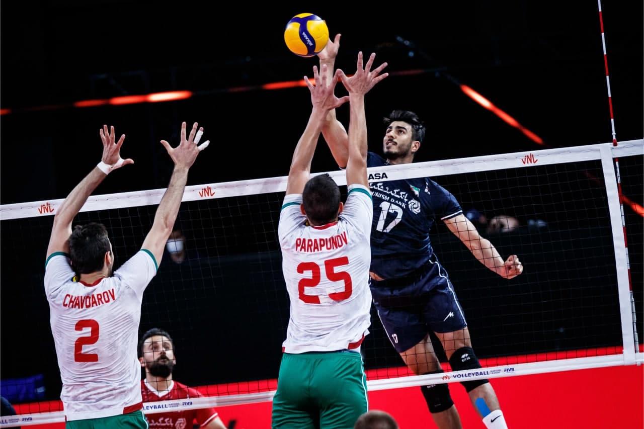 لیگ ملتهای والیبال/ پیروزی مقتدرانه ایران در یک بازی نفسگیر