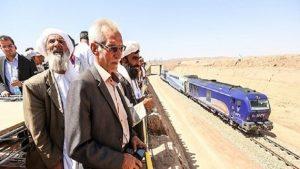 1 11 1 300x169 - اولین قطار ایران از طریق خط آهن هرات _ خواف وارد افغانستان شد