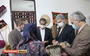 1 197 300x185 - افتتاح مرکز خلاق صنایعدستی در بندرترکمن