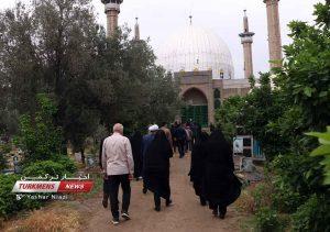 1 267 300x211 - مراسم تشییع جنازه خواهر امام جمعه گنبدکاووس برگزار شد+عکس