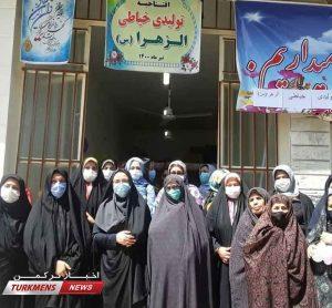 1 277 300x278 - کارگاه تولیدی پوشاک الزهرا توران فارس افتتاح شد