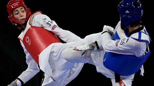 درخشش کیمیا علیزاده با شکست دادن قهرمان دو دوره المپیک