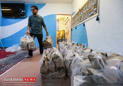 توزیع ۱۵۰۰ بسته مواد غذایی بین نیازمندان و مددجویان در استان گلستان