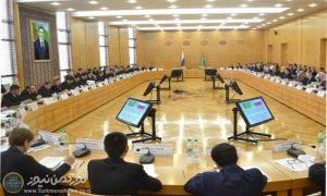 1398021810490853217373624 300x180 - برگزاری مذاکرات عالی رتبه روسیه و ترکمنستان در عشق آباد