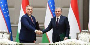 14000111000134 Test PhotoN 300x151 - امضای سند همکاری راهبردی ازبکستان و مجارستان