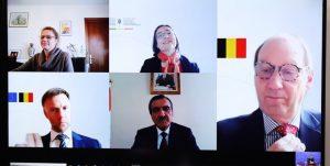 14000203000103 Test PhotoN 300x151 - سومین دور رایزنی های سیاسی تاجیکستان و بلژیک برگزار شد