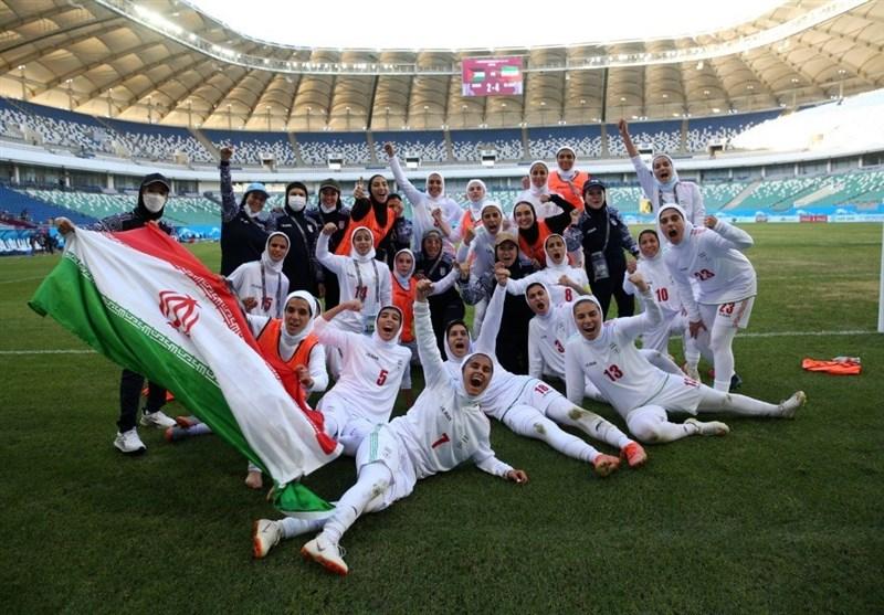اولین صعود بانوان ایران به جام ملتهای آسیا