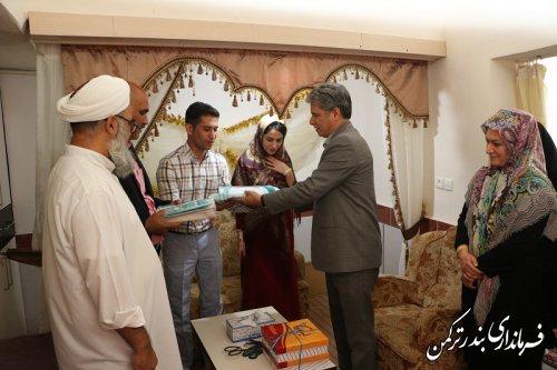 1534225205 img 0293 - حضور الیاس هیوه چی در مراسم ازدواج دو زوج جوان در شهرستان ترکمن