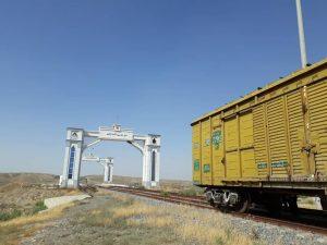 157729841 300x225 - ورود واگنهای باری ایران برای اولین بار به ترکمنستان