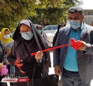 2 187 300x278 - کارگاه تولیدی پوشاک الزهرا توران فارس افتتاح شد