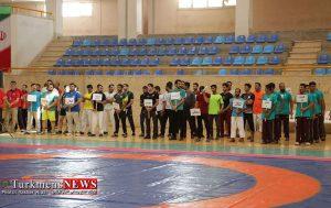 مسابقات گورش کشور به میزبانی گنبدکاووس در سالن المپیک آغاز شد (گزارش آنلاین)