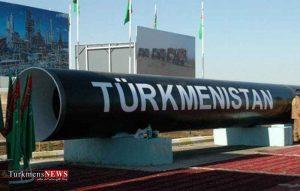 گاز صادراتی ترکمنستان