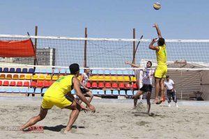 24 تیم از 6 کشور در تور والیبال ساحلی بندر ترکمن