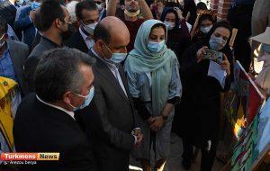 26 2 300x190 - گزارش تصویری 288-مین سالگرد بزرگداشت مخدومقلی فراغی در آق توقای