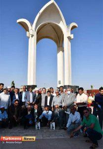 29 1 208x300 - گزارش تصویری 288-مین سالگرد بزرگداشت مخدومقلی فراغی در آق توقای