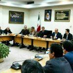محمد اسلامی در جلسه با مدیران استانی که در دفتر استانداری گلستان