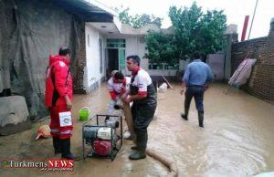 3 استان کشور درگیر سیل/ امداد رسانی به ۷۰۹ نفر سیلزده در استانهای شمالی