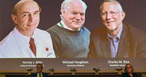 3 3 2 300x160 - جایزه نوبل پزشکی ۲۰۲۰ برای کشف ویروس هپاتیت سی به ۳ دانشمند اهدا شد