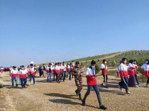 6 66 300x225 - مسابقه غرس نهال و نهالکاری در بوستان جنگلی چپر قویمه برگزار شد+ تصاویر