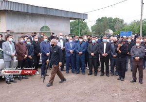 7 50 300x211 - مراسم تشییع جنازه خواهر امام جمعه گنبدکاووس برگزار شد+عکس