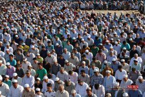 8 32 TN 78 300x200 - نماز عید سعید قربان در عیدگاه اهل سنت گنبد کاووس برگزار شد/گزارش تصویری