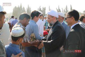8 45 TN 24 300x200 - نماز عید سعید قربان در عیدگاه اهل سنت گنبد کاووس برگزار شد/گزارش تصویری
