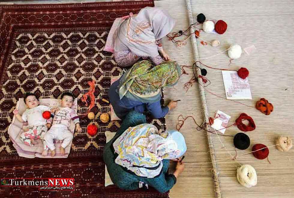 95 درصد بافندگان استان گلستان بانوان هستند